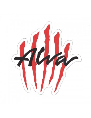 Alva Scratch Logo Sticker Pack de 5