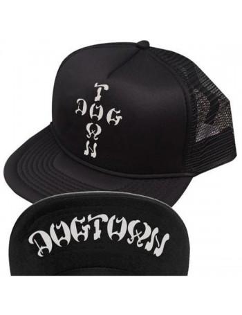 Dogtown Cross Letters Flip Mesh Hat
