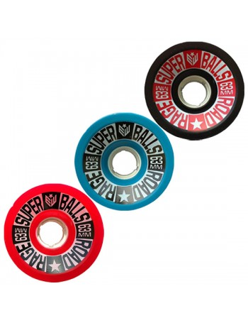Earthwing Wheels Road Rage 63mm