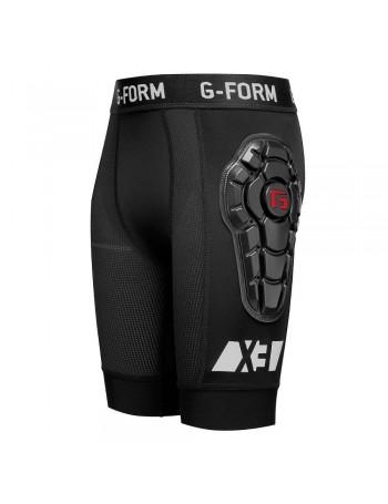 G-Form Juvenil Pro-X3 Bike Pantalón Corto Line Negro