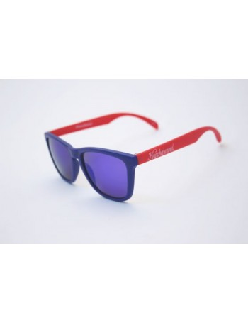 Knockaround Classic Premium Blue and Red / Moonshine