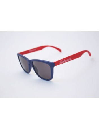 Knockaround Classic Premium Blue and Red / Smoke