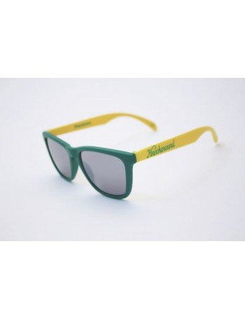 Knockaround Classic Premium Green and Yellow / Smoke