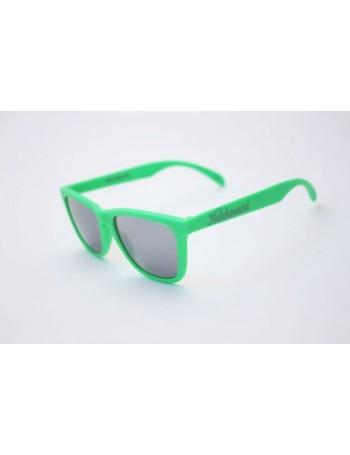 Knockaround Classic Premium Neon Green / Smoke