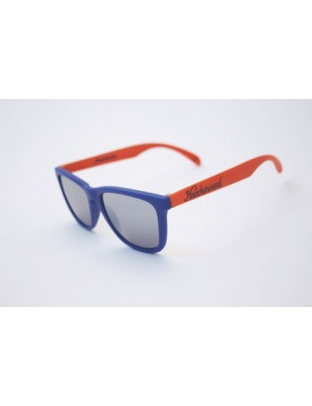 Knockaround Classic Premium Orange and Blue / Smoke