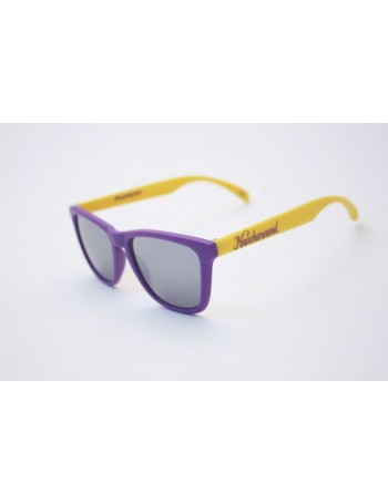 Knockaround Classic Premium Purple and Gold / Smoke