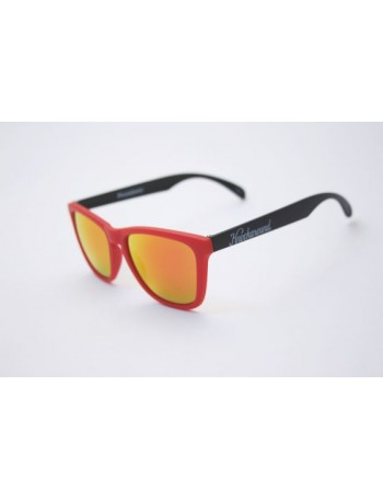 Knockaround Classic Premium Red and Black / Red Sunset