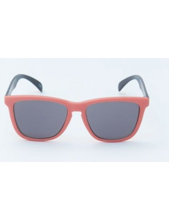 Knockaround Classic Premium Red and Black / Smoke