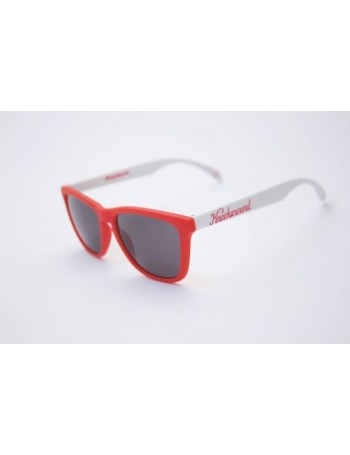 Knockaround Classic Premium Red and White / Smoke