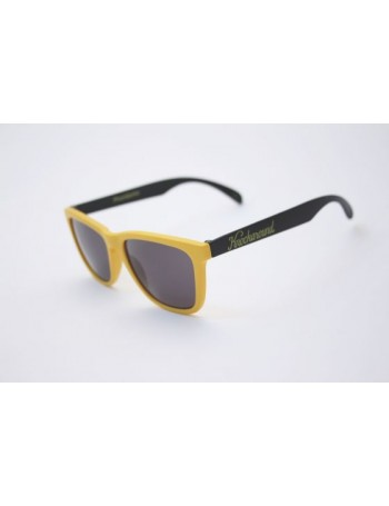 Knockaround Classic Premium Yellow and Black / Smoke