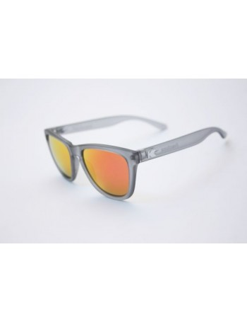 Knockaround Premium Frosted Grey / Blue Moonshine
