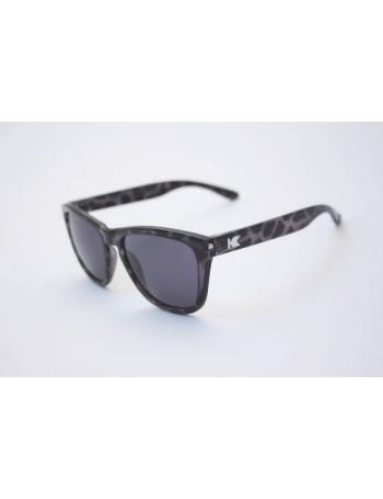 Knockaround Premium Black Tortoise / Smoke