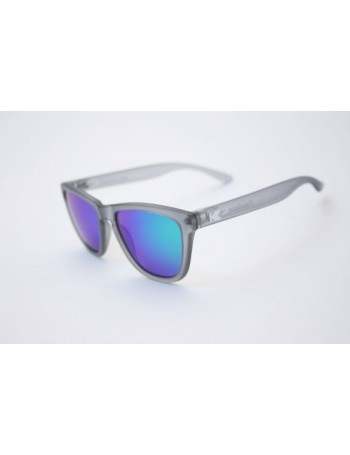 Knockaround Premium Polarizadas Frosted Grey / Green Moonshine