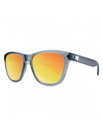 Knockaround Premium Polarizadas Frosted Grey / Red Sunset