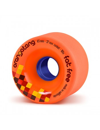 Orangatang Ruedas Fat Free 65mm