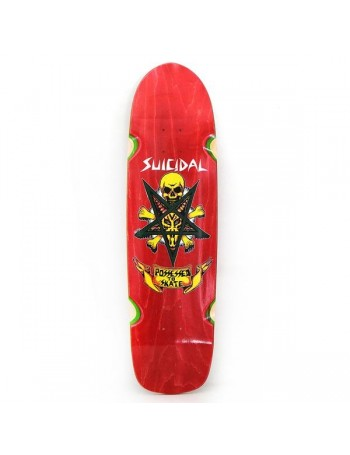 "Suicidal Pool Series Possessed to Skate Skateboard Tabla 8.75"" x 32.5"""
