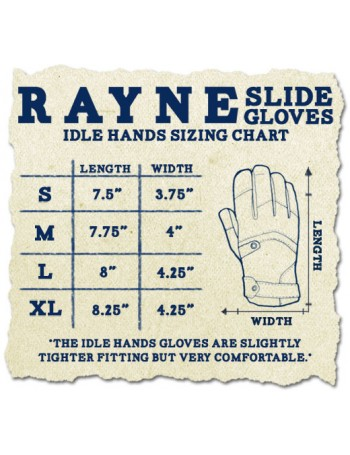 Rayne Guantes Slide