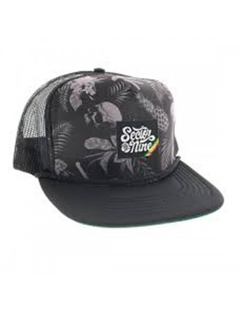 Sector 9 Trucker Cap Vacay Black