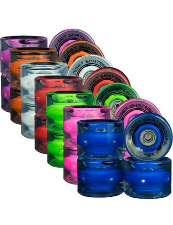 Sunset Wheels Cruiser 59mm LED